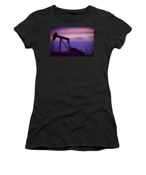 Oil Sunset Women's T-Shirt