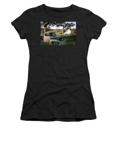 Old Farm Truck Women's T-Shirt