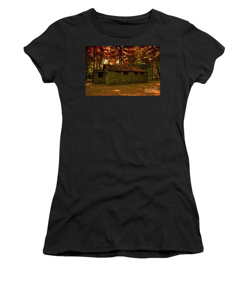 Old Stone Structure Women's T-Shirt (Athletic Fit)