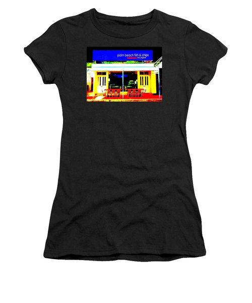 Palm Beach Australia - Fish And Chips Women's T-Shirt
