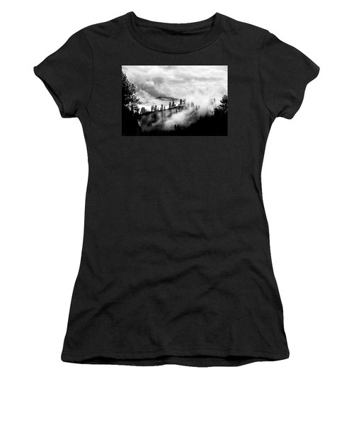 Passing Storm Central Idaho Mountains Women's T-Shirt