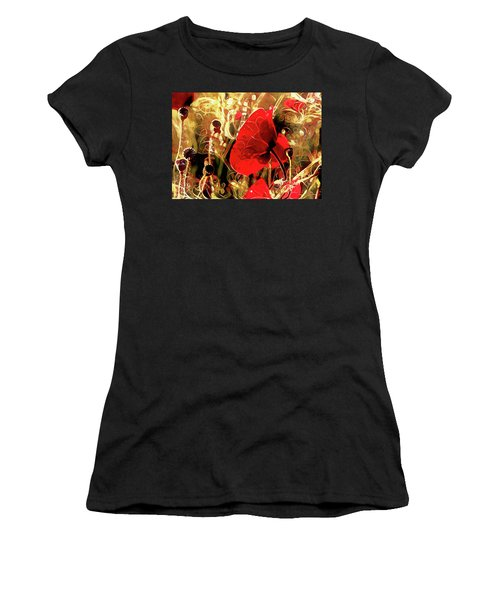 Passionate About Poppies Women's T-Shirt
