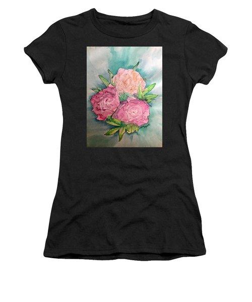 Peonie Roses Women's T-Shirt