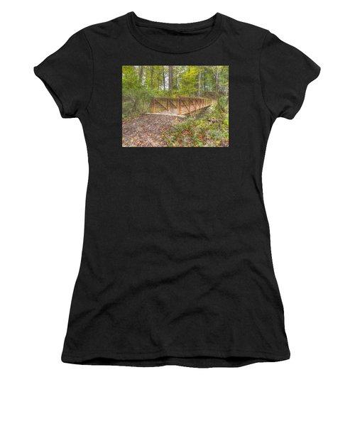 Pine Quarry Park Bridge Women's T-Shirt