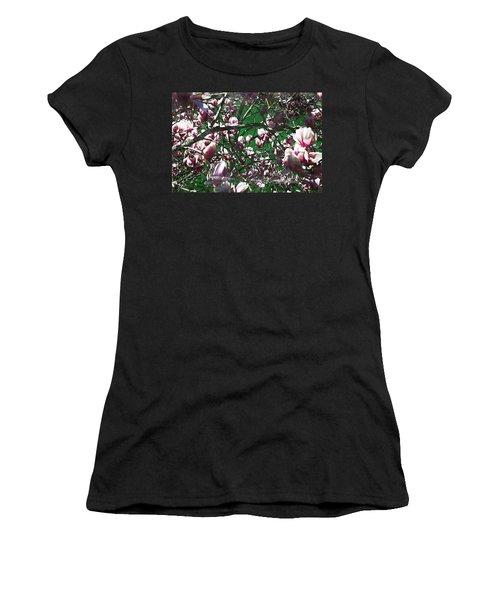 Pink Bush Women's T-Shirt