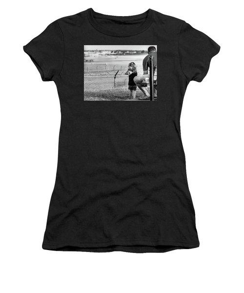 Plane Watching Women's T-Shirt