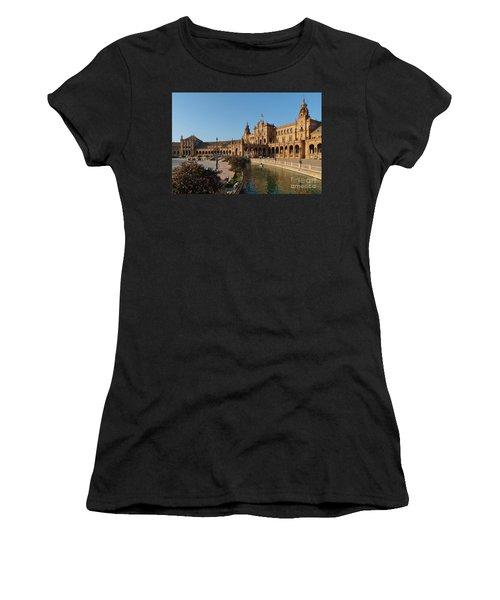 Plaza De Espana Bridge View Women's T-Shirt