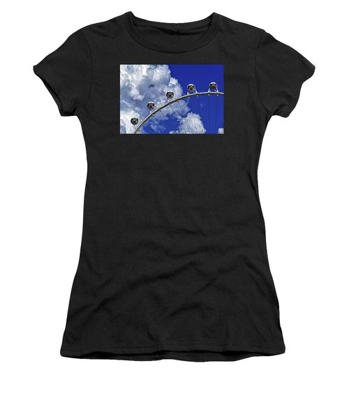 Women's T-Shirt featuring the photograph Pod Cluster 1 by Skip Hunt