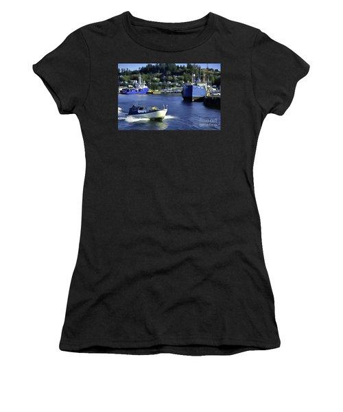 Port Of Astoria Oregon Women's T-Shirt