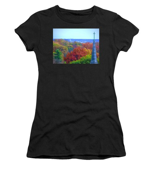 Women's T-Shirt (Athletic Fit) featuring the photograph Power And Glory by Don Moore