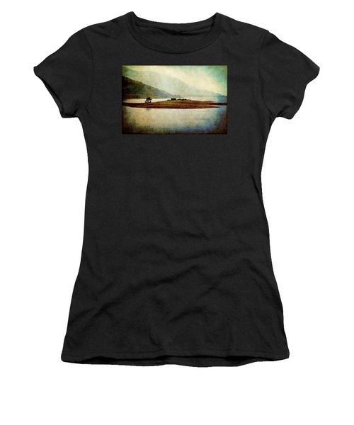 Women's T-Shirt featuring the photograph Quiet Before The Storm by Milena Ilieva