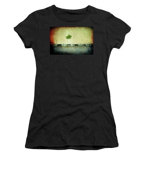 Women's T-Shirt featuring the photograph Quiet Evening by Milena Ilieva