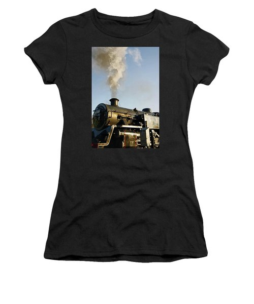 Ramsbottom. East Lancashire Railway. Locomotive 80080. Women's T-Shirt