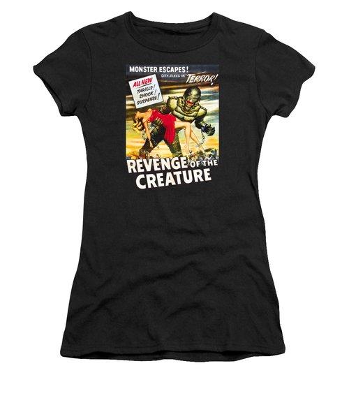 Revenge Of The Creature Movi Poster Women's T-Shirt