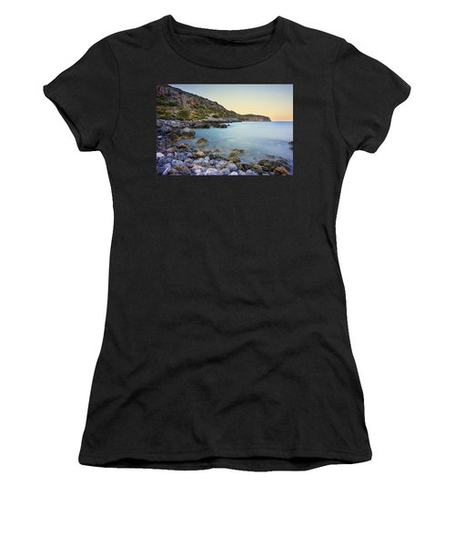 Rocky Coast Near Monemvasia Women's T-Shirt