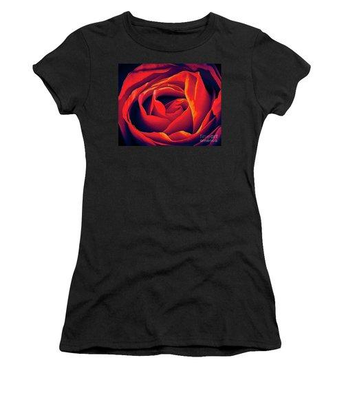 Rose Ablaze Women's T-Shirt