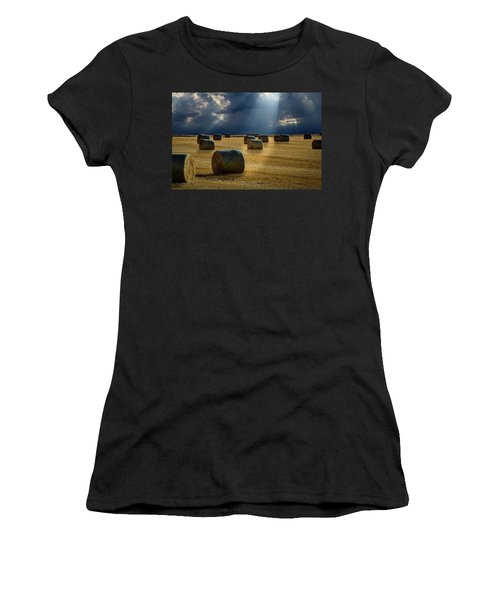 Round Bales Women's T-Shirt