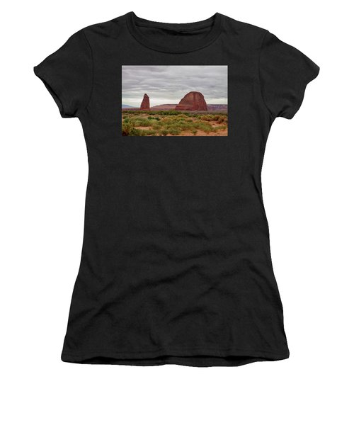 Women's T-Shirt (Athletic Fit) featuring the photograph Round Rock by James BO Insogna