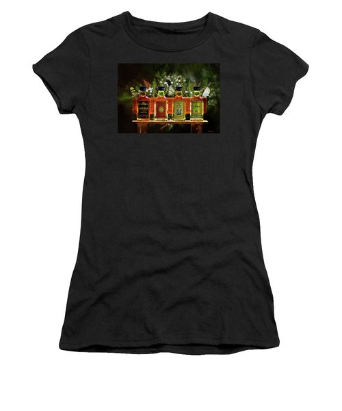 Women's T-Shirt (Athletic Fit) featuring the photograph Rum Rum And More Rum by Ericamaxine Price