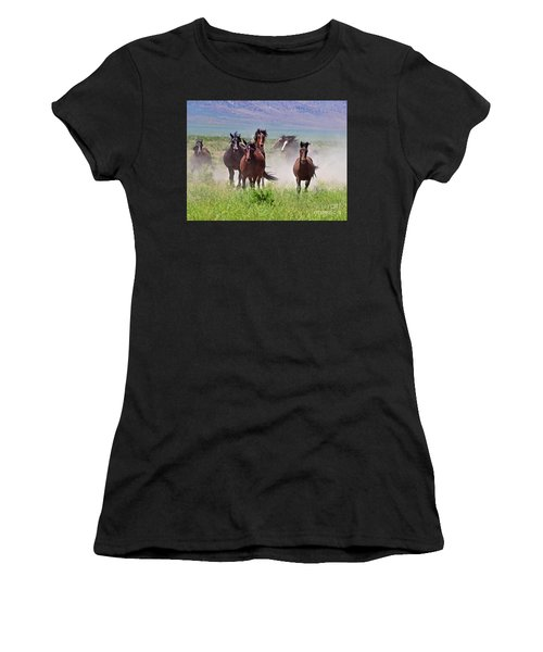 Running Together Women's T-Shirt (Athletic Fit)