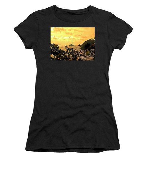 Sail The Manatee River Women's T-Shirt