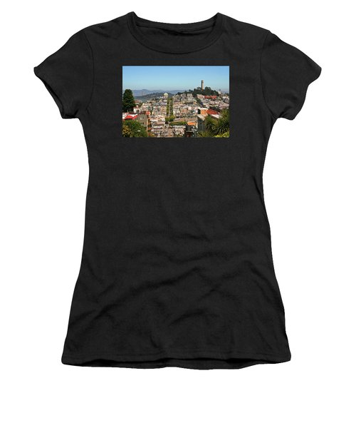 San Francisco - Telegraph Hill Women's T-Shirt