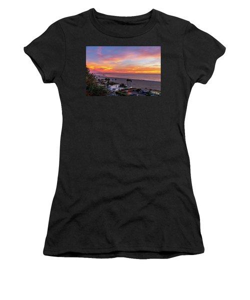 Santa Monica Pier Sunset - 11.1.18  Women's T-Shirt