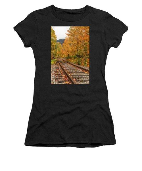 Scenic Crawford Notch Railway Women's T-Shirt