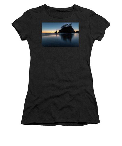 Sea Stack Silhouette Women's T-Shirt