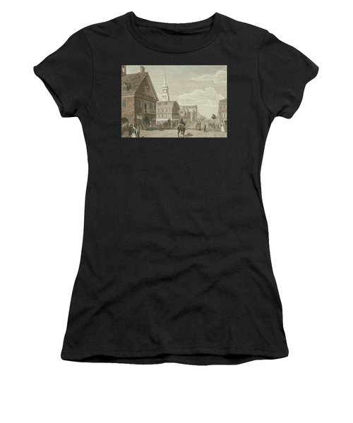 Second Street North From Market St. And Christ Church Women's T-Shirt