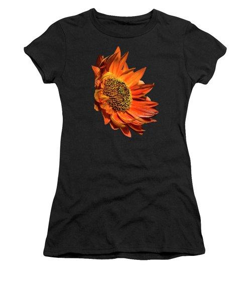 Selective Color Sunflower Women's T-Shirt