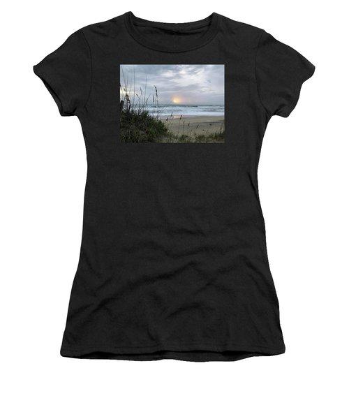 Women's T-Shirt featuring the photograph Sept. 14, 2018 Sunrise  by Barbara Ann Bell