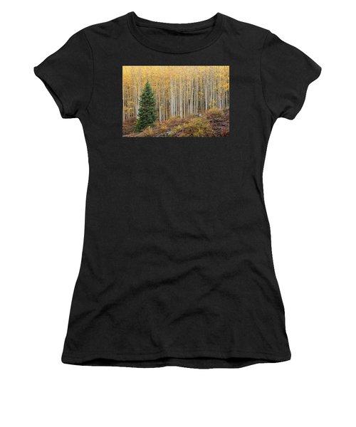 Shimmering Aspens Women's T-Shirt