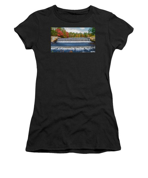 Women's T-Shirt (Athletic Fit) featuring the photograph Shining Bright  by Michael Hughes