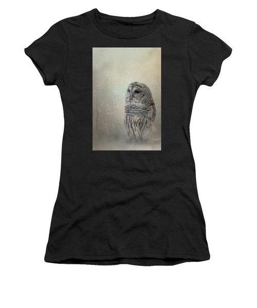 Silent Snow Fall Women's T-Shirt