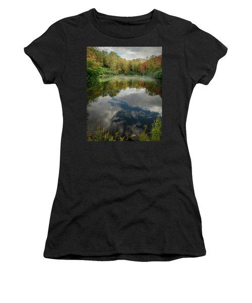 Sims Pond Blowing Rock North Carolina Women's T-Shirt