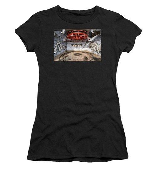 Ski Lift Turnaround Women's T-Shirt
