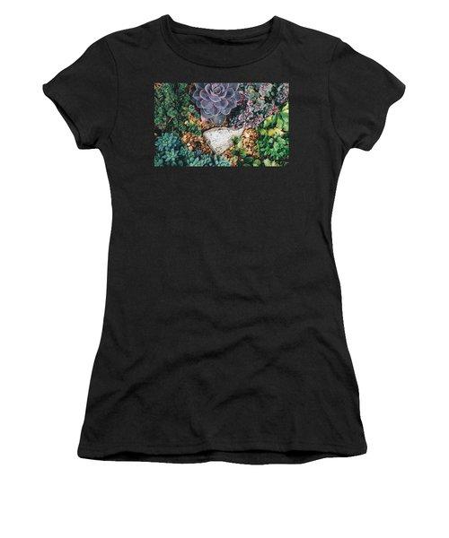 Small Succulent Garden Women's T-Shirt