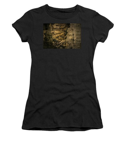 Smashed Wooden Wall Women's T-Shirt