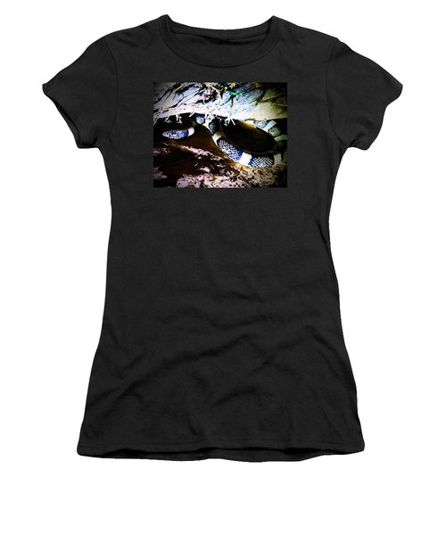 Women's T-Shirt (Athletic Fit) featuring the photograph Sonoran Desert Longnosed Snake by Judy Kennedy