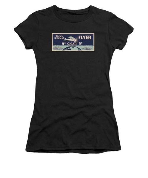 Spirit Of St Louis - Vintage Cigar Advertisement Women's T-Shirt