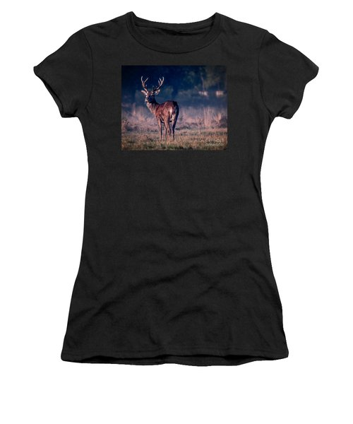 Stag Eating Women's T-Shirt