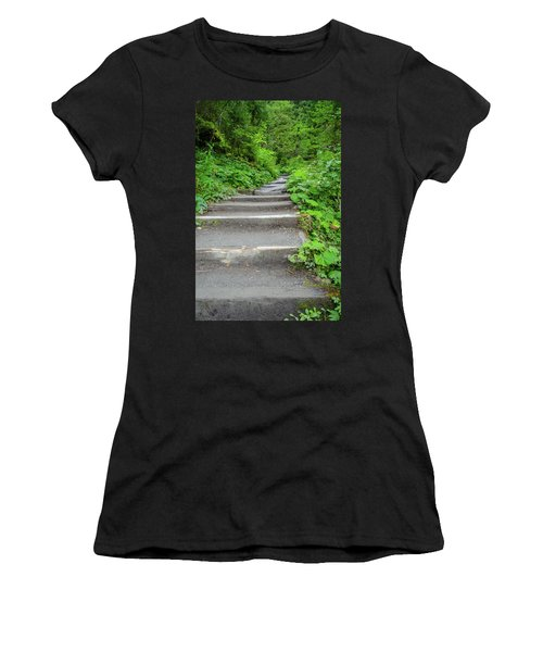 Stairs To The Woods Women's T-Shirt