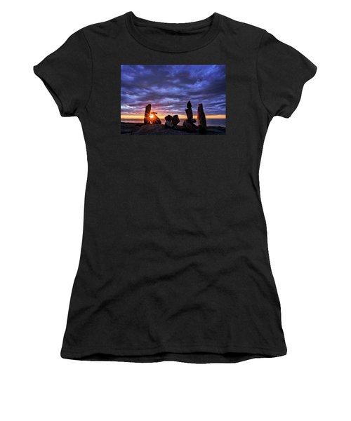 Standing Stone 1 Halibut Pt.  Women's T-Shirt