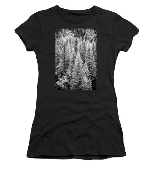 Standing Tall In The French Alps Women's T-Shirt