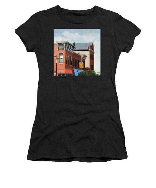 Standing Tall -local City Buildings Women's T-Shirt