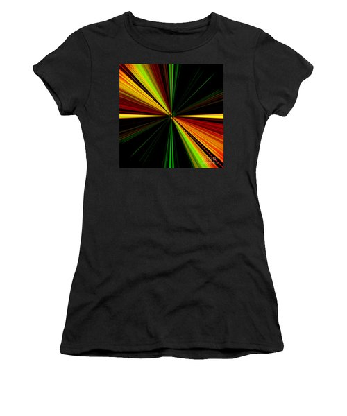 Starburst Light Beams Design - Plb461 Women's T-Shirt