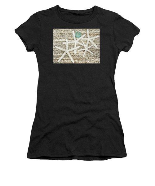 Starfish Love Women's T-Shirt (Athletic Fit)