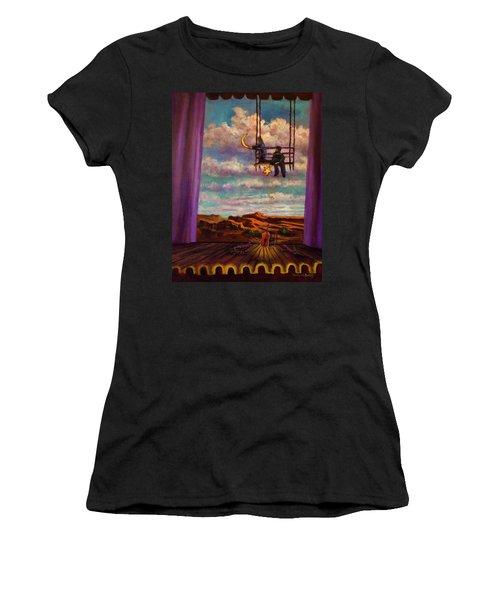 Starry Day Women's T-Shirt