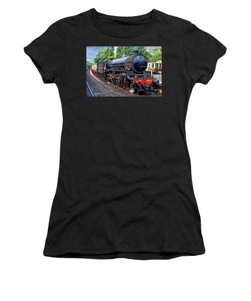 Steam Locomotive 1264 Nymr Women's T-Shirt